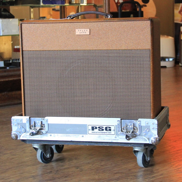 Tyler Amps JT46 Relic Dark Tweed Tube Combo Amplifier w/ Roadcase (SKU 6090K)