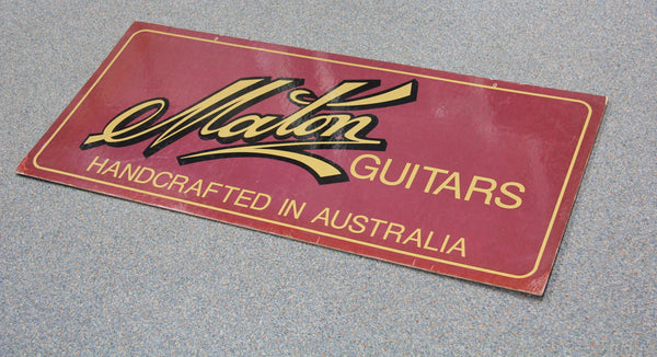 Maton Guitar Sign (SKU 6139)