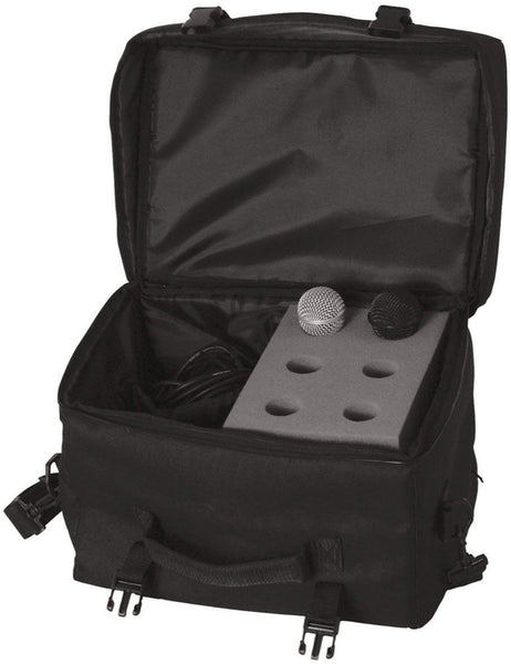 On-Stage MB7006 Microphone Carry Bag, 6-Space, New (SKU 6142)