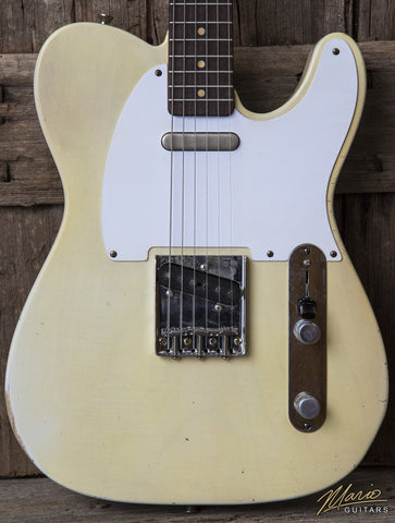 NEW Mario Martin Nicotine Blonde Rosewood Neck Telecaster T Style Electric Guitar w/ Gig Bag (SKU 6117)