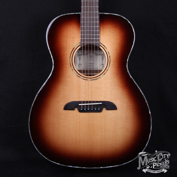 New Alvarez AFA1965 Anniversary Folk OM Acoustic Guitar- B Stock (SKU 4343)