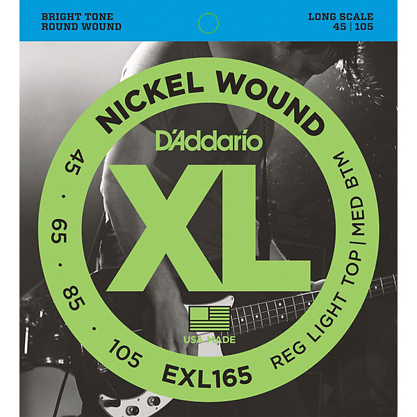 D'Addario EXL165 45/105 Bass Strings