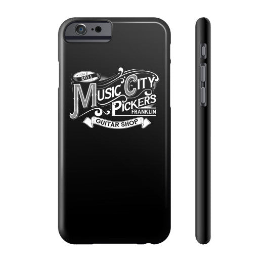 Phone Case- Black w/ White Logo