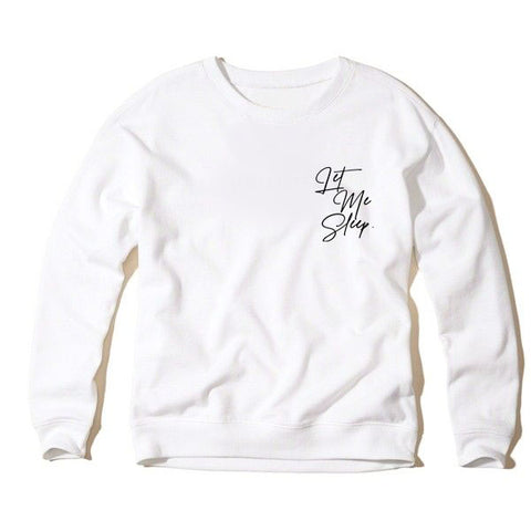 crewneck sweatshirt | sleeping beauty