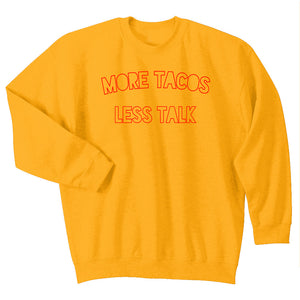 crewneck sweatshirt | tacos + truths