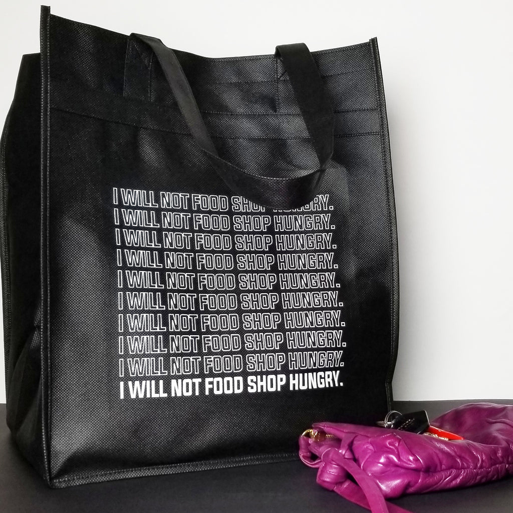 XL reusable shopping tote: on repeat