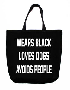tote: black is the new black