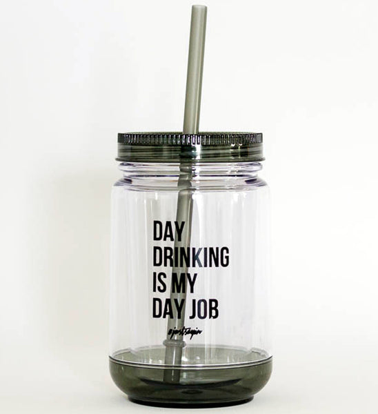 mason jar: day drinker