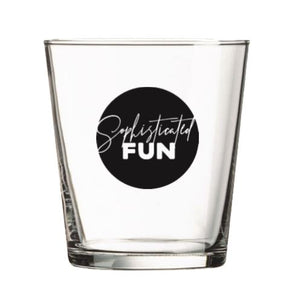 rocks glass: the F U in FUN