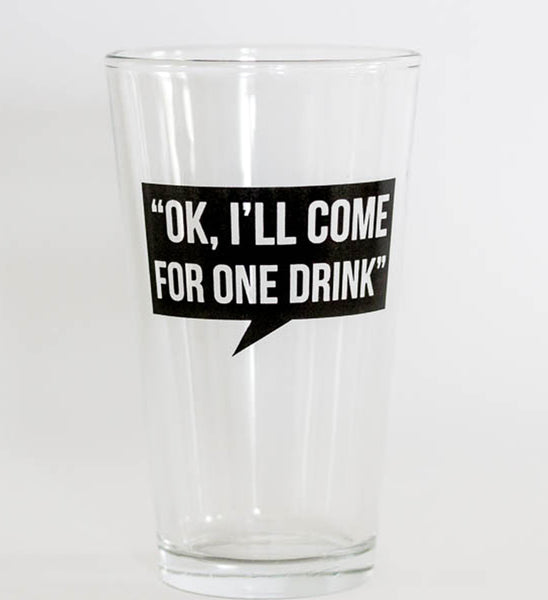 pint glass: the liar