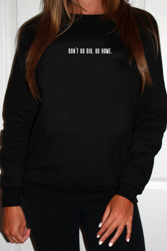 crewneck sweatshirt | stay home