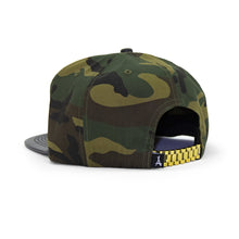 Load image into Gallery viewer, 24K PRESIDENTIAL (CAMO + LEATHER BRIM)