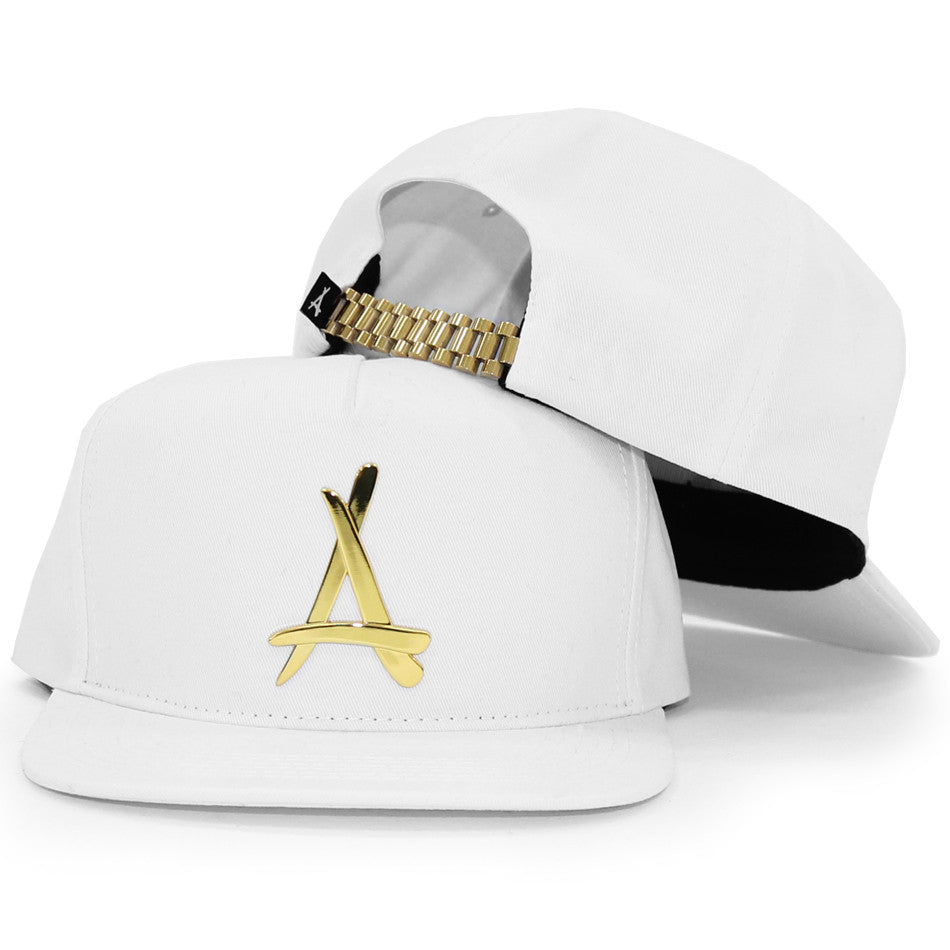 24K PRESIDENTIAL SNAPBACK (ALL WHITE)