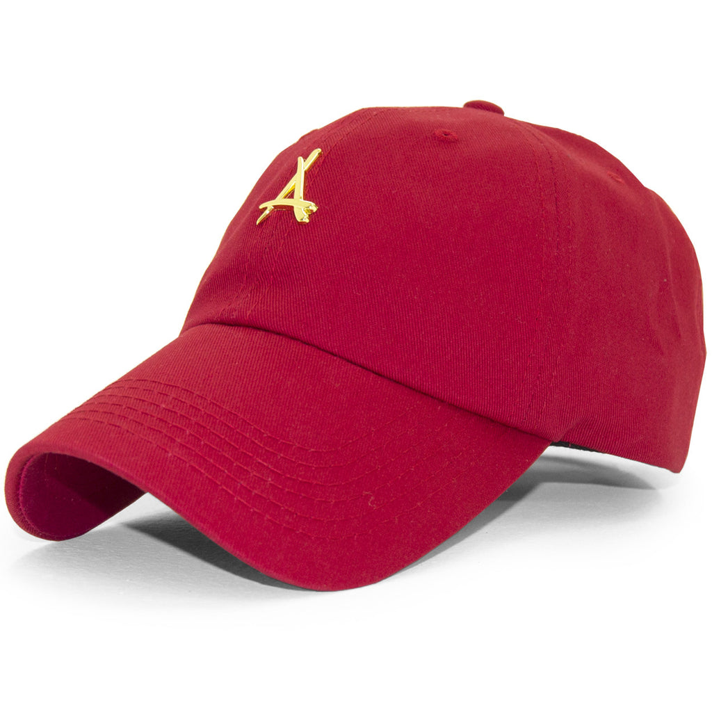 24K RED DAD HAT