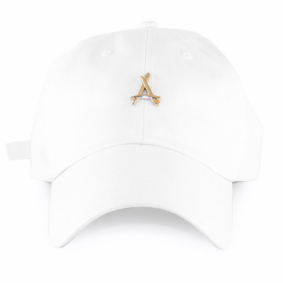 24K WHITE DAD HAT