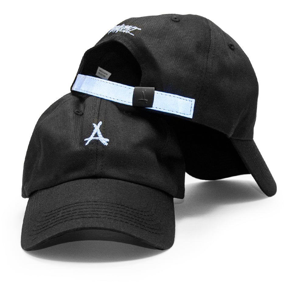 3M DAD HAT (BLACK)