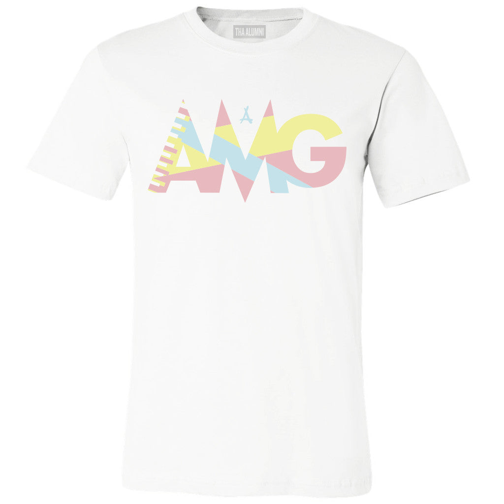 TROPICAL AMG TEE (WHITE)
