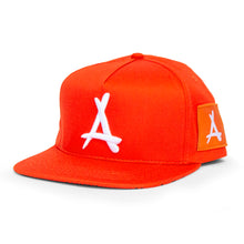 Load image into Gallery viewer, AOP SNAPBACK (ORANGE)