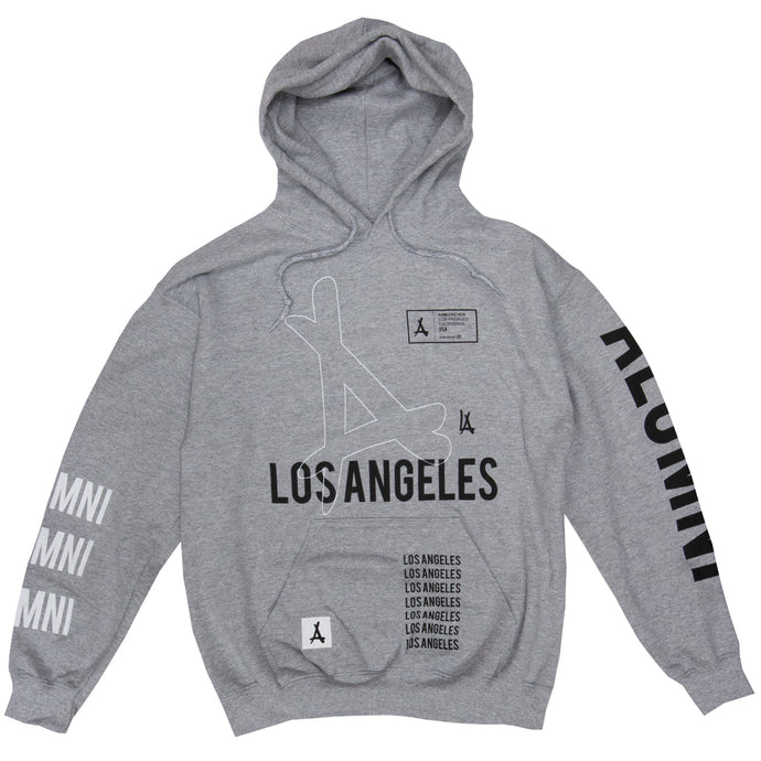 AOP REMIX HOODIE (ATHLETIC GREY)