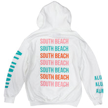 Load image into Gallery viewer, AOP SOUTH BEACH HOODIE