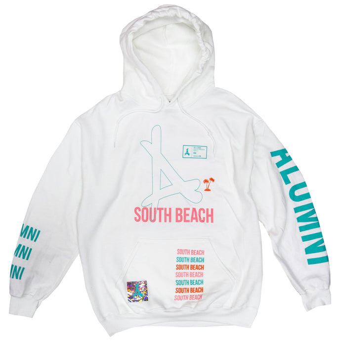 AOP SOUTH BEACH HOODIE
