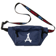 Load image into Gallery viewer, ALUMNI + USA DAD BAG (NAVY)