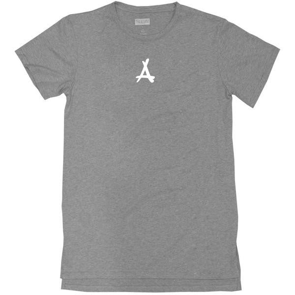 BASIC EXTENDED LOGO TEE (DARK GREY)