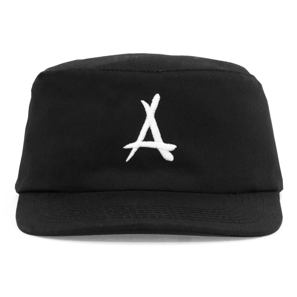 LOGO PAINTER HAT (BLACK)