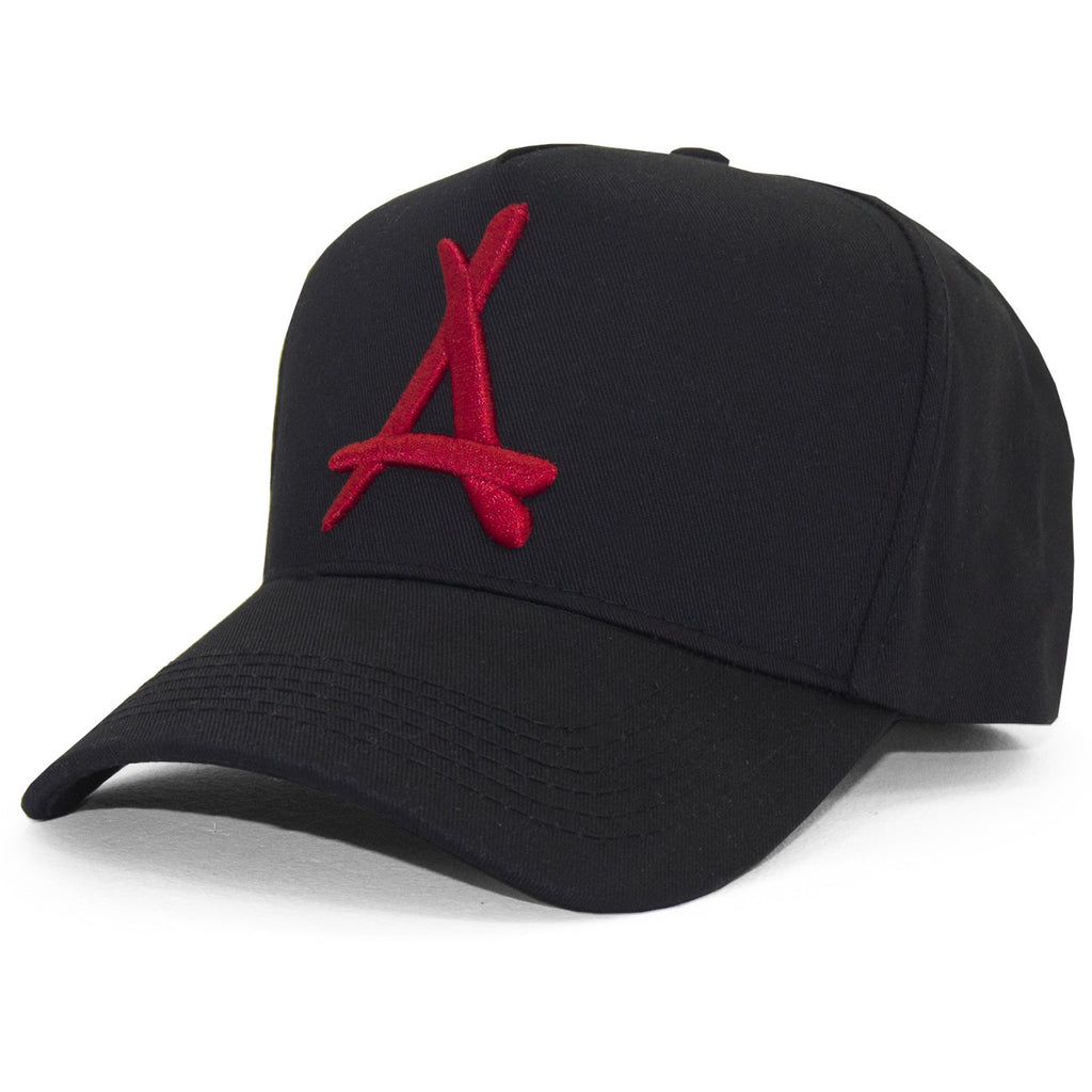 "CLASSIC ""A"" SNAPBACK (BRED)"