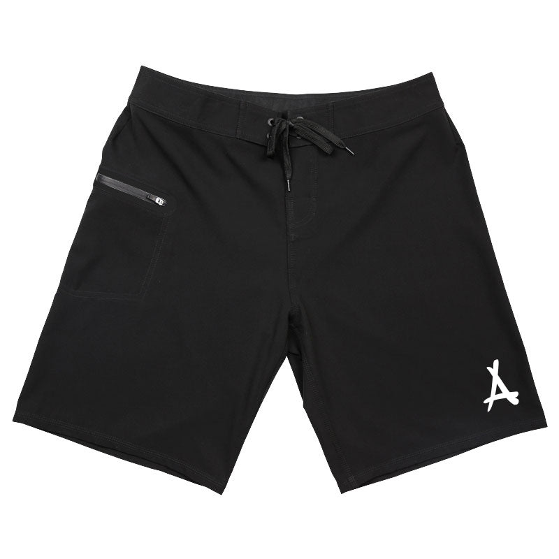 ALUMNI BOARDSHORTS (BLACK)