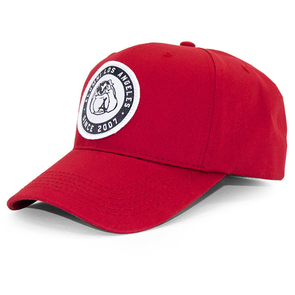 BULLDOG PATCH SNAPBACK (RED)