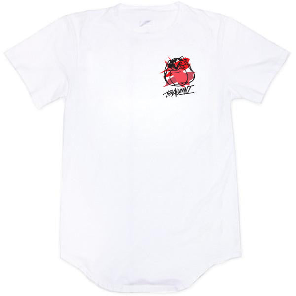 BULLDOG SCOOP TEE (WHITE)