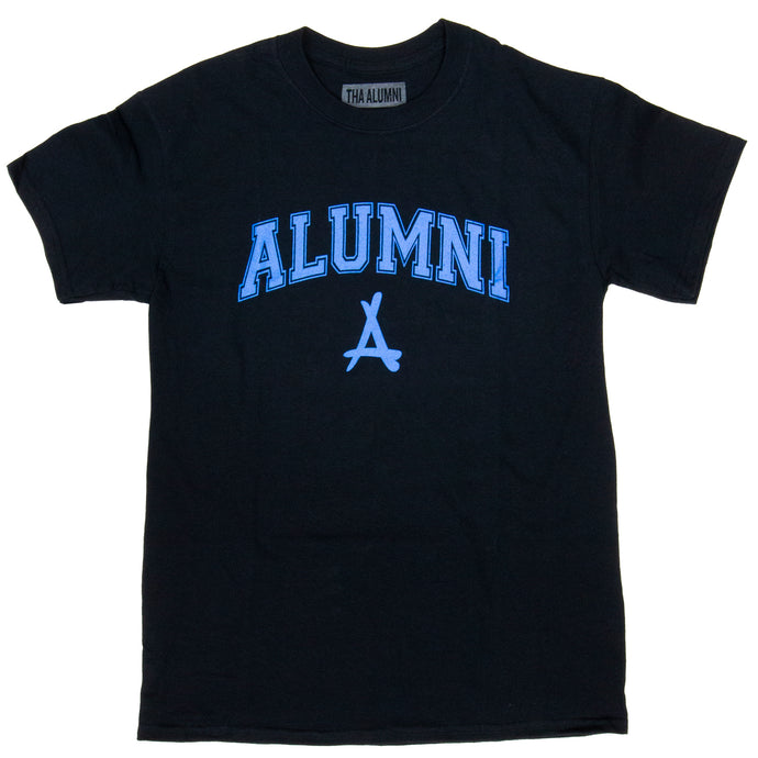 COLLEGIATE TEE (ELECTRIC BLUE)