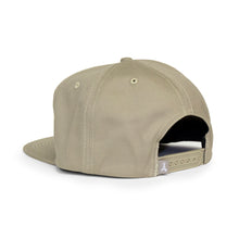 "Load image into Gallery viewer, CLASSIC ""A"" SNAPBACK (KHAKI)"