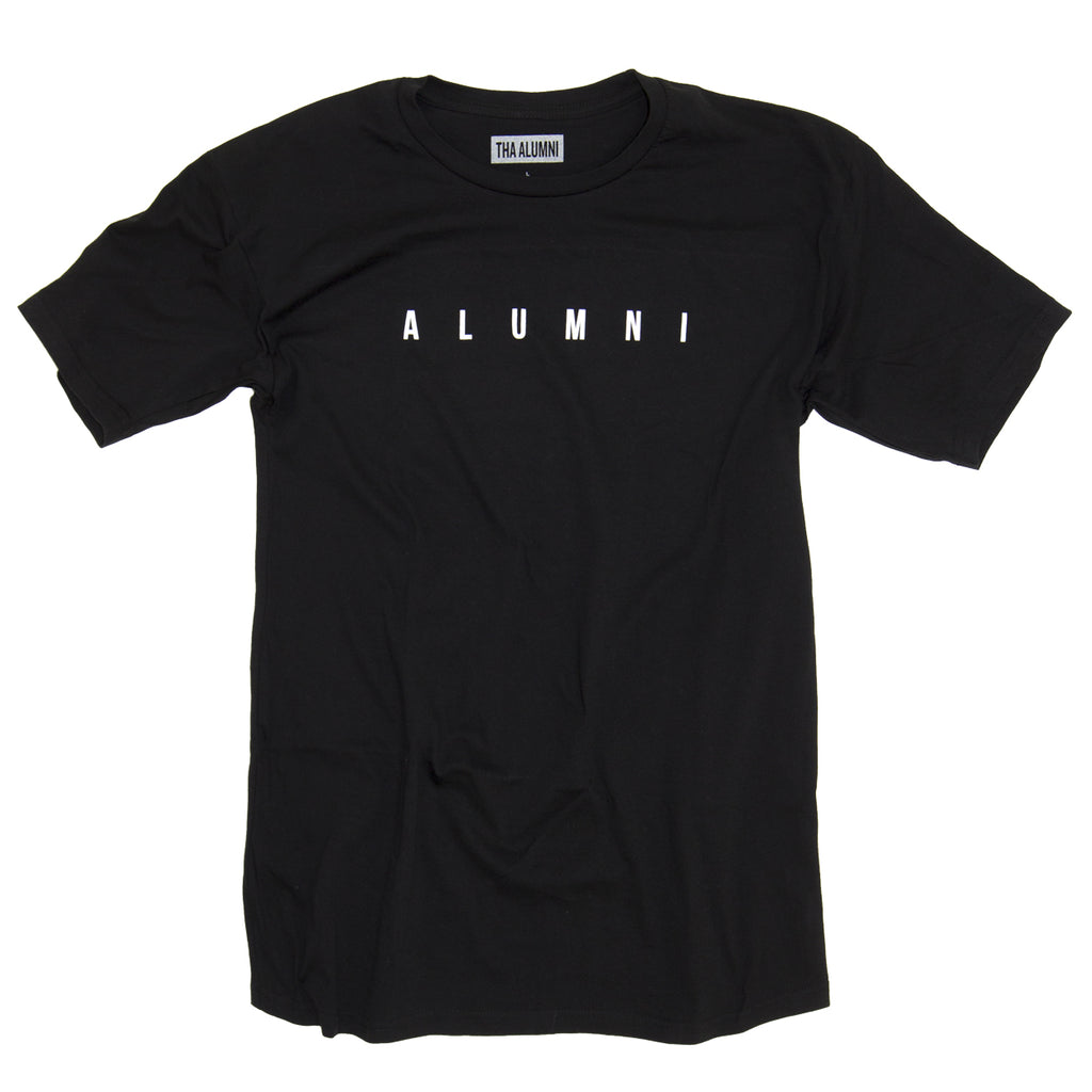 COLLEGIATE TEE (BLACK)