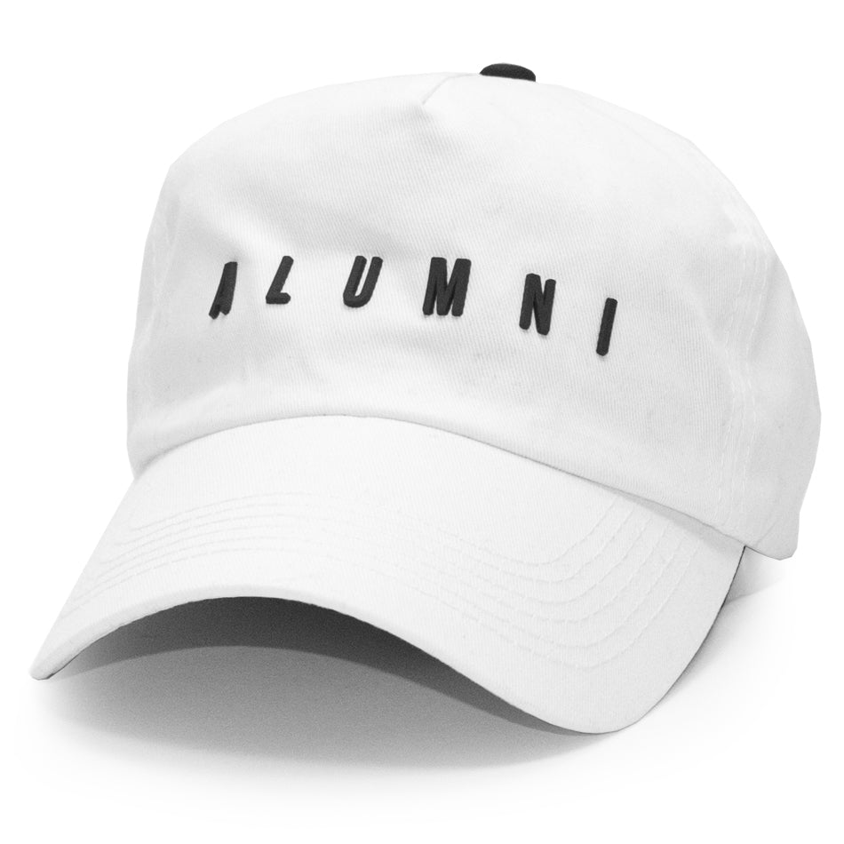 COLLEGIATE DAD HAT (WHITE)