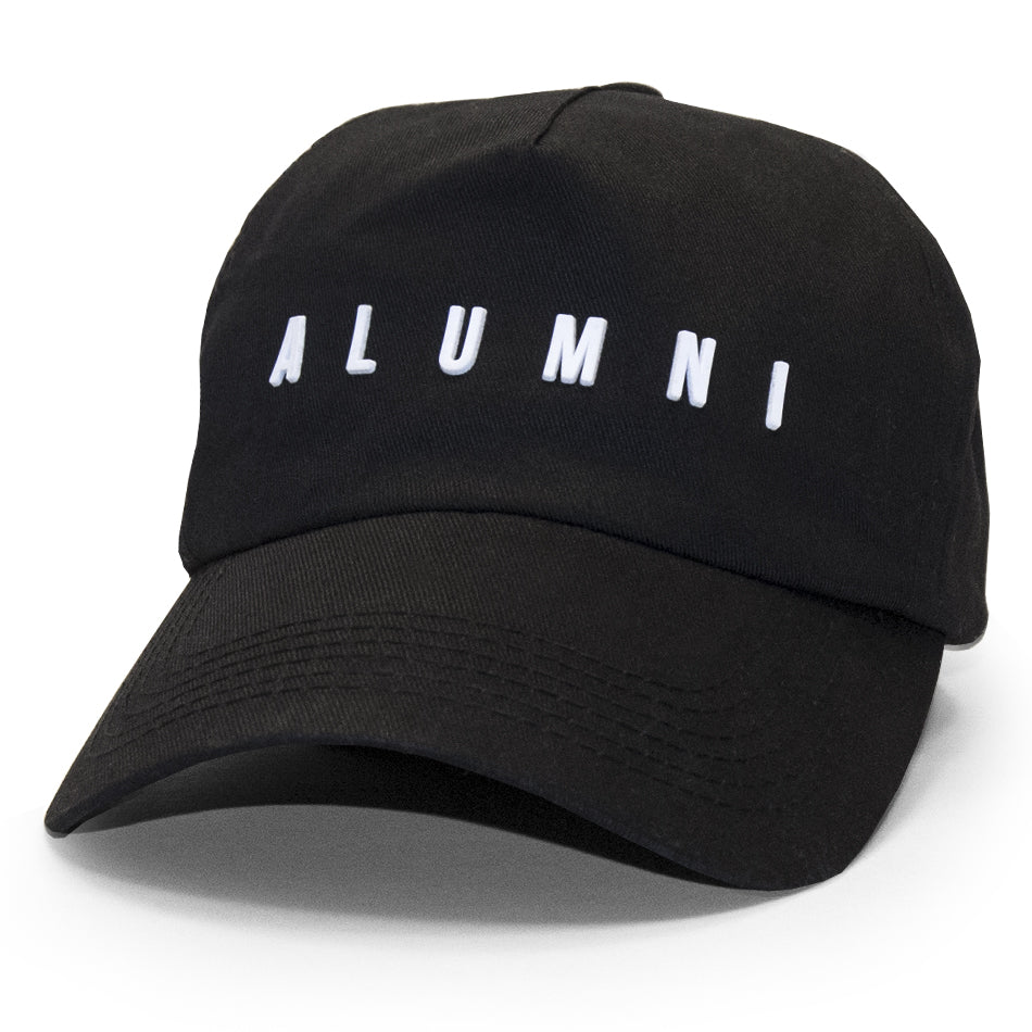 COLLEGIATE DAD HAT (BLACK)