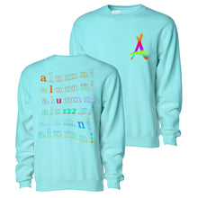 Load image into Gallery viewer, RAINBOW CREWNECK (MINT)
