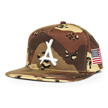 Load image into Gallery viewer, DESERT CAMO FREEDOM SNAPBACK
