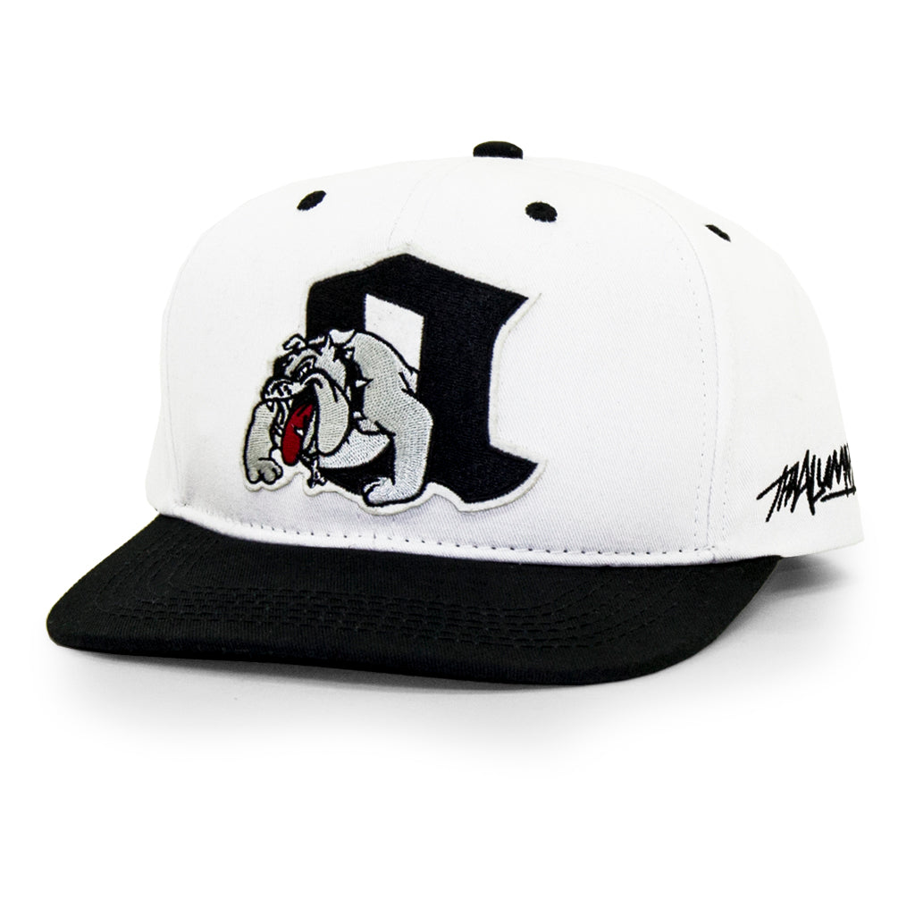 DOGHOUSE SNAPBACK (WHITE)