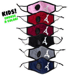 "FILTER LOGO ""A"" MASK (KIDS)"