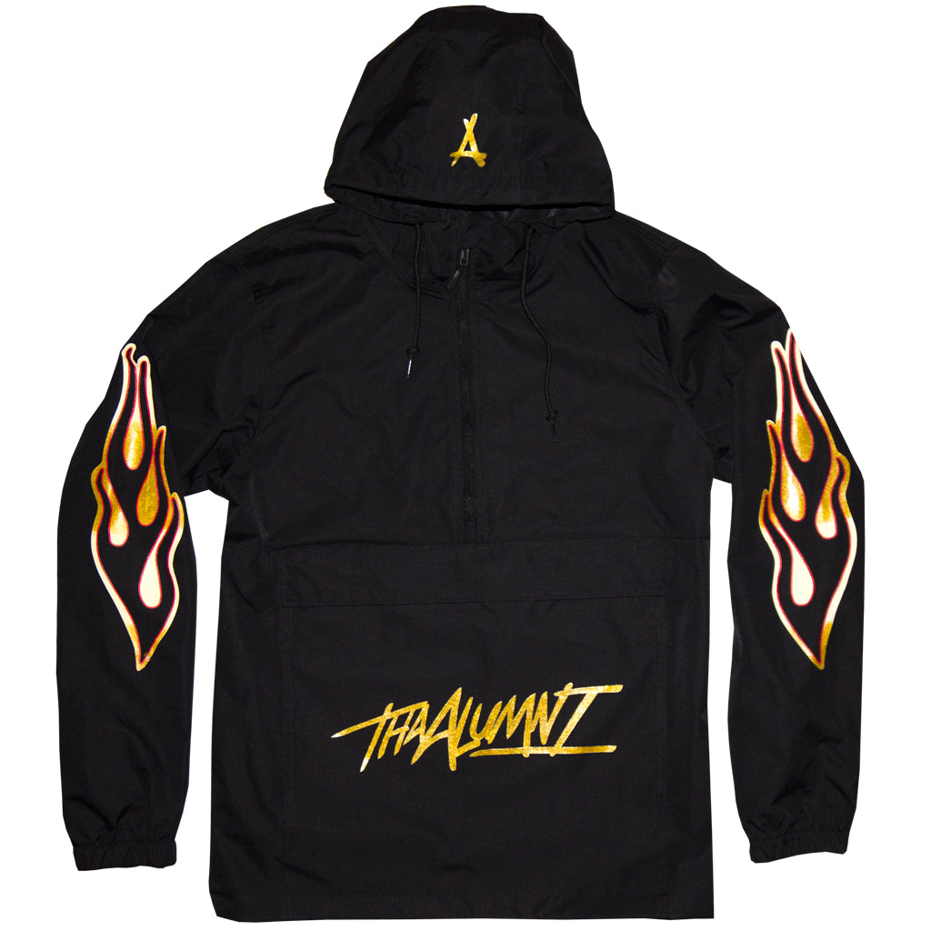 GOLD FLAME WINDBREAKER