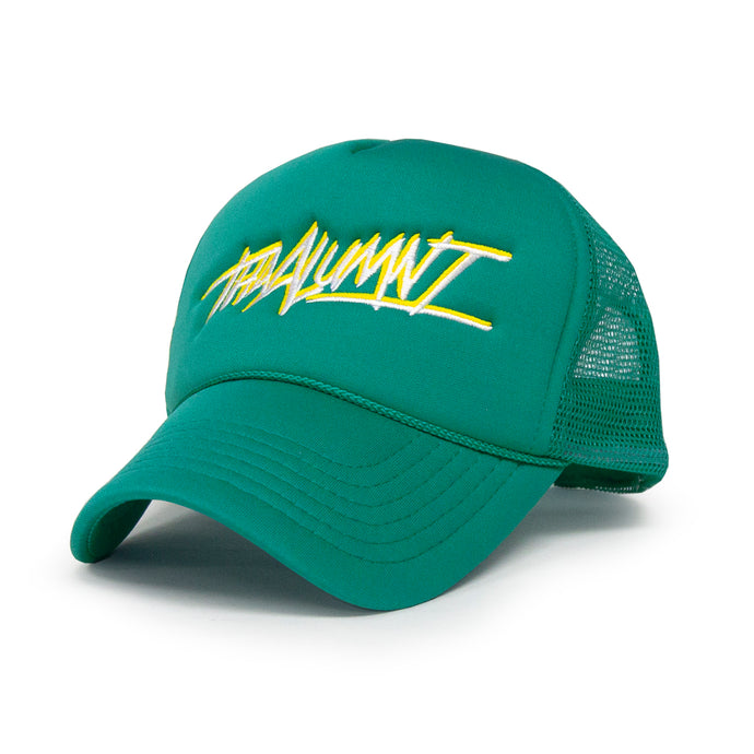 THA ALUMNI FOAM TRUCKER (TEAL/YELLOW)
