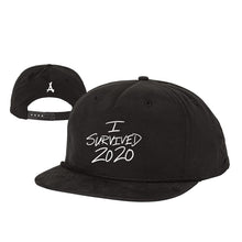 Load image into Gallery viewer, I SURVIVED 2020 SNAPBACK (BLACK)