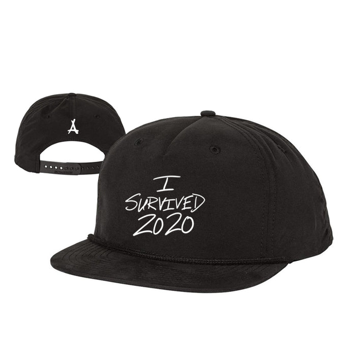 I SURVIVED 2020 SNAPBACK (BLACK)