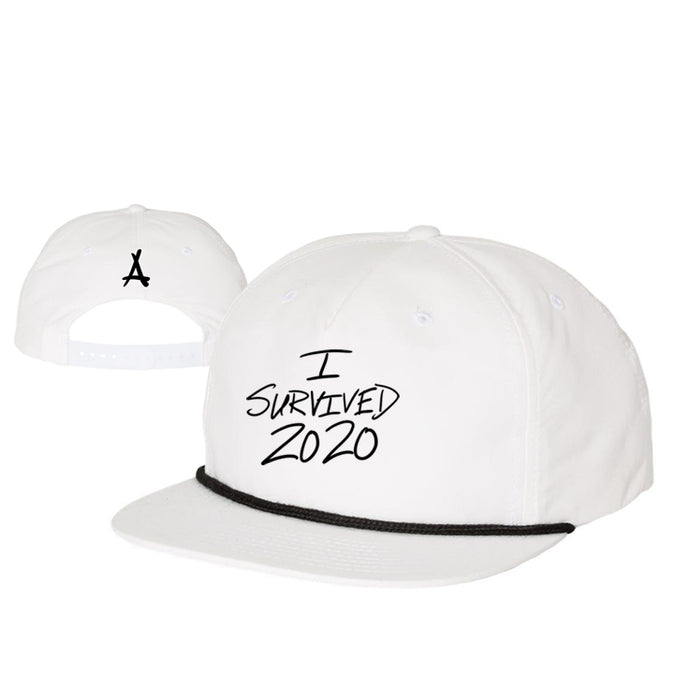 I SURVIVED 2020 SNAPBACK (WHITE)