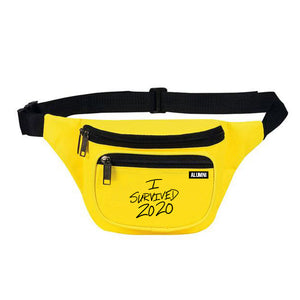 I SURVIVED 2020 DAD BAG (YELLOW)
