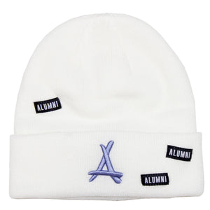 AOP BEANIE (ICE BLUE + WHITE)