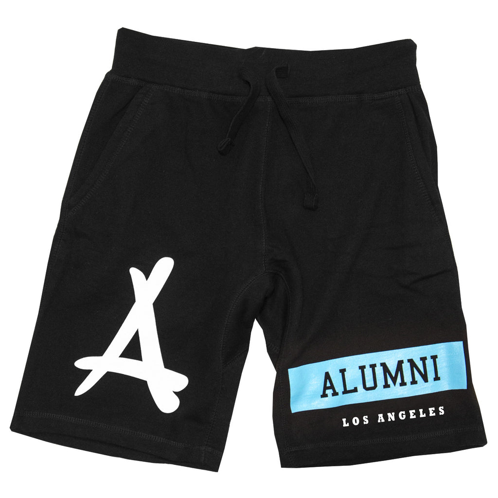 ALUMNI ISLAND SWEAT SHORTS (BLACK)