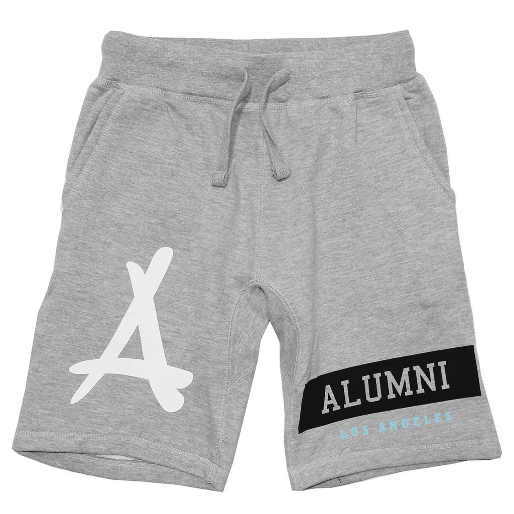 ALUMNI ISLAND SWEAT SHORTS (ATHLETIC GREY)
